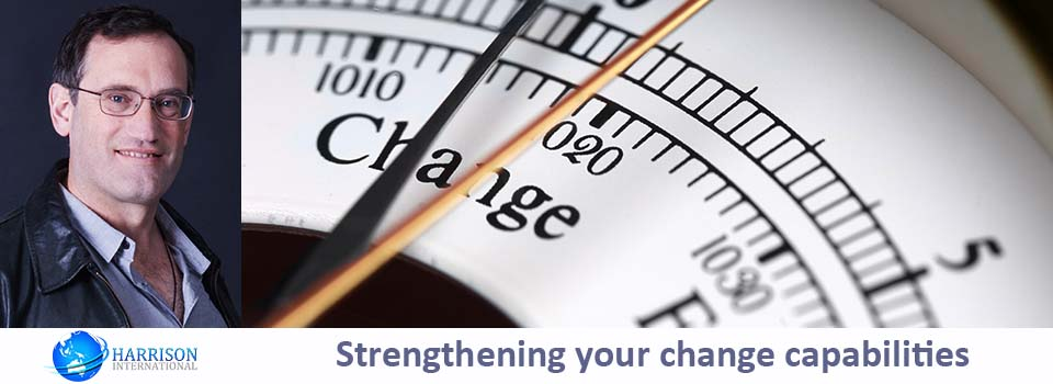 Strengthening change capabilities